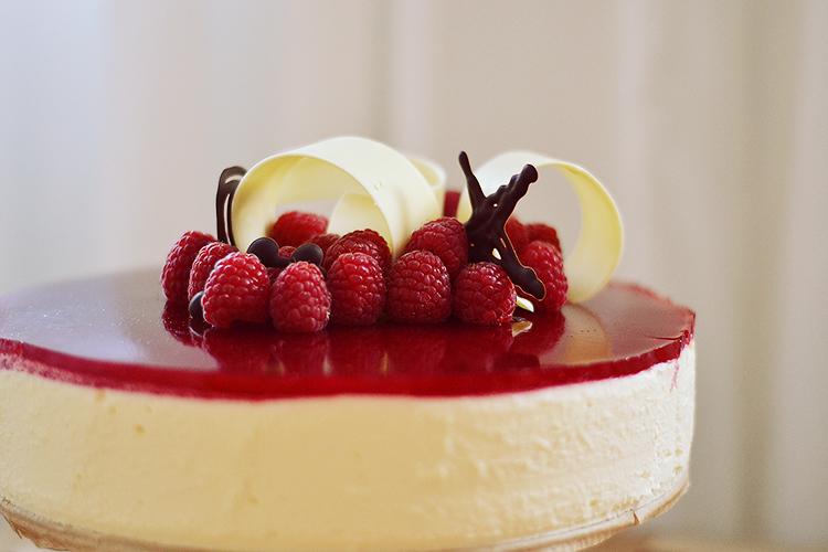 Recipe Chocolate Raspberry Mirror Mousse Cake