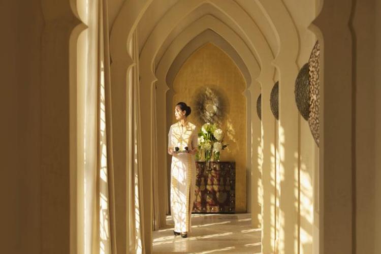 Golfhotel The Ritz Carlton Abu Dhabi First Class Golf